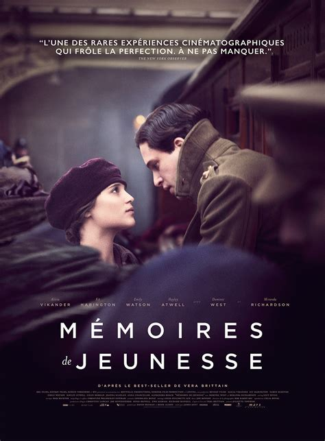 film romance militaire m 233 moires de jeunesse film 2014 allocin 233