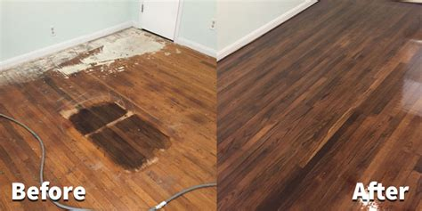 Refinished Hardwood Floors Before And After Class Hardwood Floor Refinishing In Fort Worth