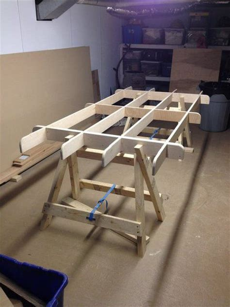 plywood bench plans knockdown plywood sawhorse plans woodworking projects