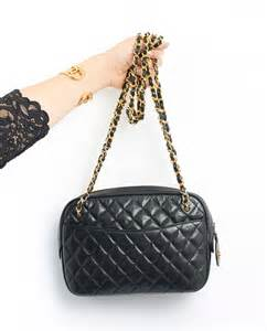 Chanel Vintage Quilted Shoulder Bag chanel vintage quilted shoulder bag blue crossbody bag