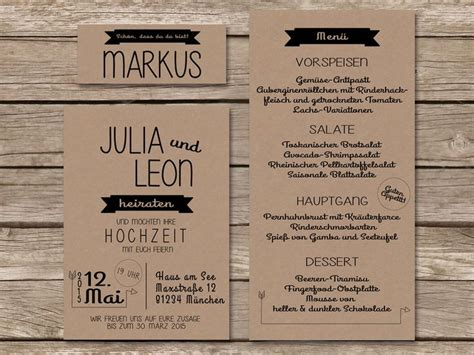 Hochzeitseinladung Kraftpapier by 220 Ber 1 000 Ideen Zu Kraftpapier F 252 R Hochzeit Auf
