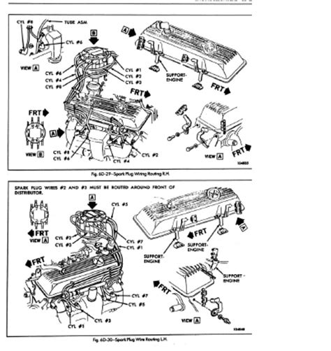 spark wires diagram 85 corvette 36 wiring diagram