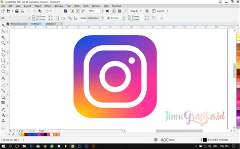 membuat link instagram cara termudah membuat logo instagram terbaru ilmugrafika id