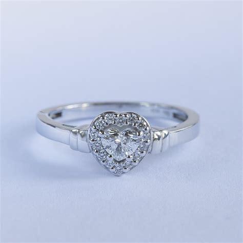 Diamant Verlobungsring by Klenota Verlobungsring Diamanten Herzen