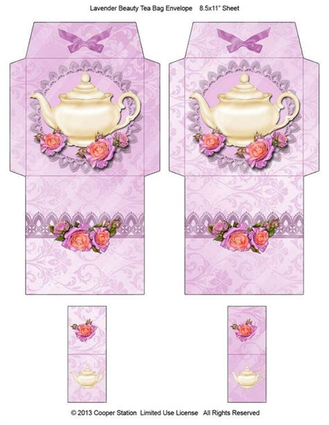 1000 images about tea bag printables on pinterest bags