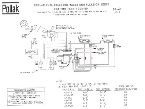 diagram pollak ignition switch wiring diagram