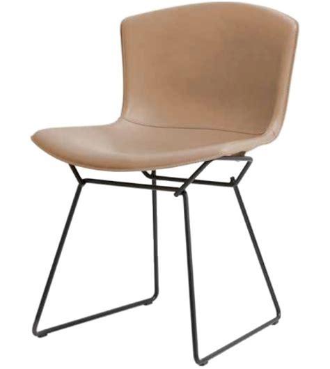 Knoll Bertoia Side Chair Bertoia Knoll Side Chair In Cowhide Milia Shop