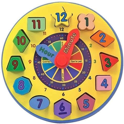 printable clock with movable hands pin by toys concept on melissa doug toys pinterest