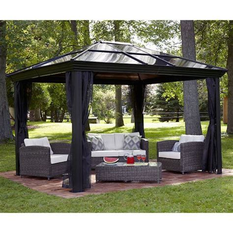 backyard gazebos best 25 backyard canopy ideas on pinterest deck canopy