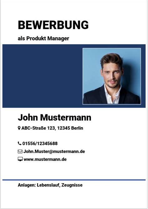 Newsletter Design Matt Blau Vorlagen deckblatt f 252 r bewerbungen kostenlose vorlage