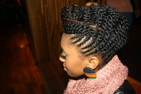 professional flat twist updos sweet simple bold march 2013
