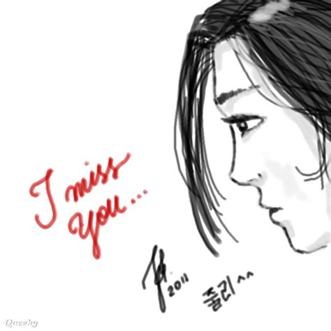 Miss U Drawing by Miss U A Speedpaint Drawing By Julick Queeky