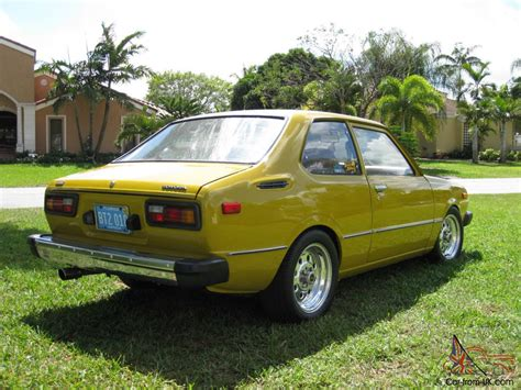 Toyota Corolla 1977 1977 Toyota Corolla Ke 30 1 2 Cylinders Original