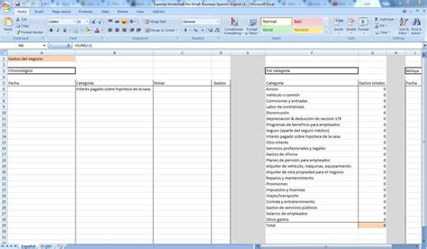 Small Business Expenses Template small business expense tracking spreadsheet spreadsheets