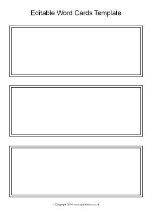 Blank Flash Cards Word Template Printable Index Card Free Ustam Co Flash Card Template Word