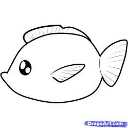 How To Draw Fish Fish Drawing For Cliparts Co