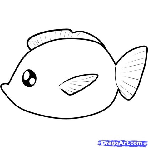 coloring book all drawing of fish cliparts co