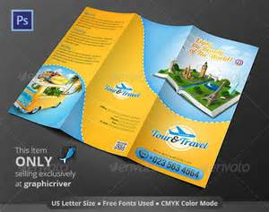 tour brochure template 47 travel brochure templates free sle exle