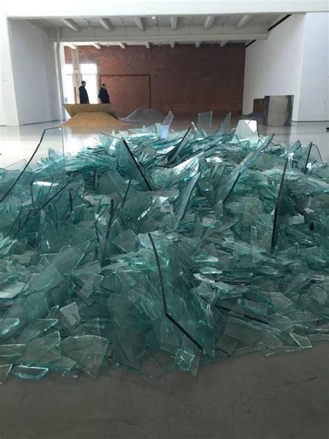 land robert robert smithson quot map of broken glass quot 1969