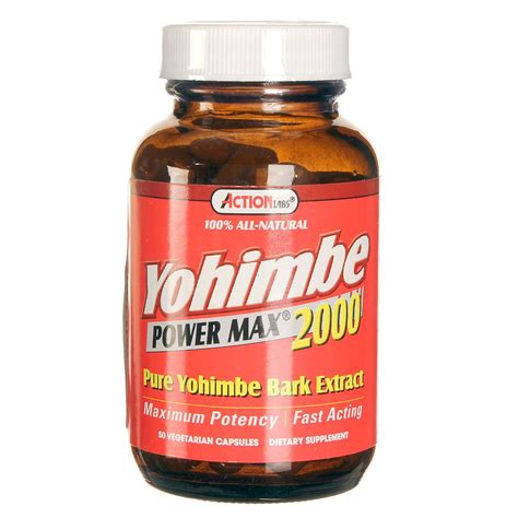 supplement yohimbe labs yohimbe power max 2000 50 vcapsules