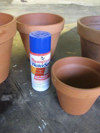 spray painting terracotta pots painting terra cotta pots terra cotta sprays and water