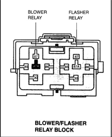 f250 blower motor relay location where is the front blower motor relay located on a 2001 ford expedition