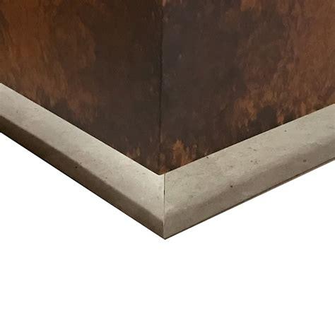 large wooden l base milton burl wood large chrome base m3ld
