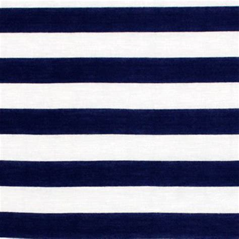 navy blue and white navy blue and white stripe cotton jersey blend knit fabric