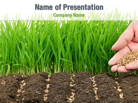planting seeds powerpoint templates planting seeds