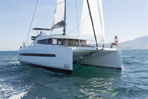 innovative catamaran design bali 4 5 catamaran sets a new design standard