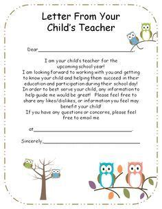 book report letter to parents student introduction letter my future classroom