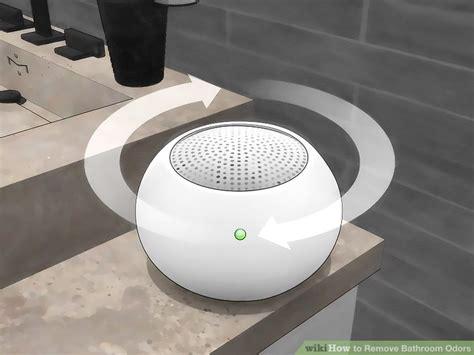 ways  remove bathroom odors wikihow