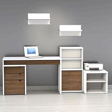 nexera liber t desk nexera liber t desk panel white walnut 211303