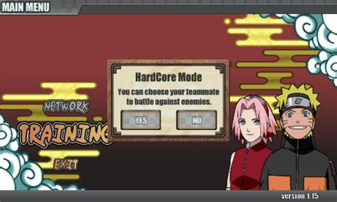 cara mod game naruto cara membuka hardcore mode naruto senki tanpa mod semua