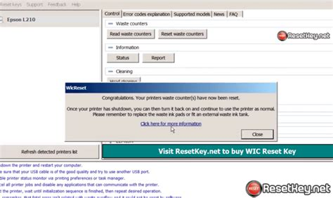 wic reset key for epson l220 download wic reset utility for epson l210