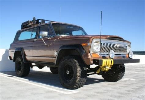 Jeep Chief For Sale Battle Ready Bargain 1980 Jeep Chief Bring A