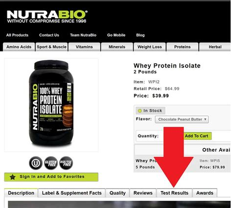 protein lab test nutrabio now discloses 3rd lab tests