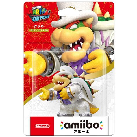 Amiibo Mario Wedding Mario Odyssey Series amiibo mario odyssey series figure koopa wedding