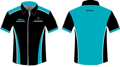 free design uniform corporat uniform public bank corporate shirts