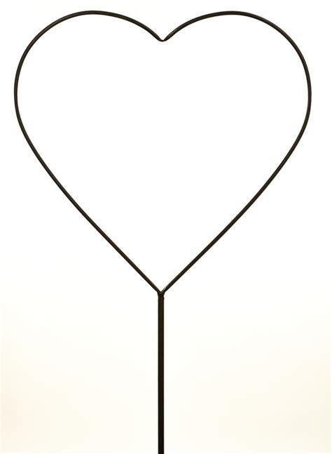 large heart shape clipart best metal large heart shaped garden flower bed spike ornament