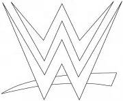 wwe logo coloring page wwe coloring pages color online free printable