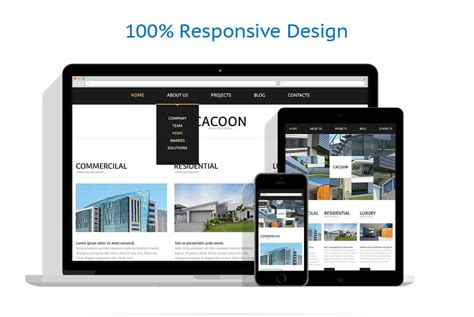 responsive layout maker pro mac architecture responsive website template 44422 by wt