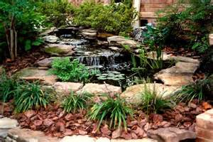 Small Garden Waterfall Ideas Small Pond Waterfall Ideas Small Ponds Small Ponds Gallery Outdoor Style Small