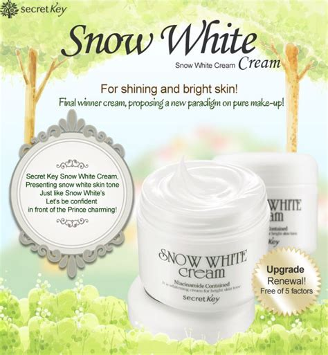 Secret Key Snow White 50g Murah secret key snow white 50g whitening for white