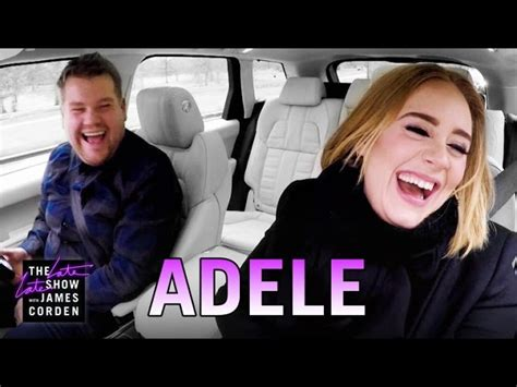 james corden and adele relationship watch adele and james corden carpool karaoke aussie gossip