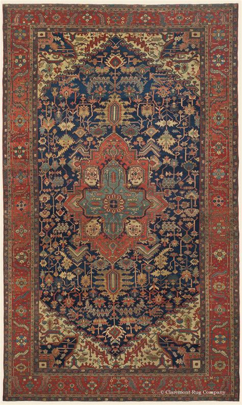 Antique Looking Rugs by Serapi Northwest Antique Rug Claremont Rug Company