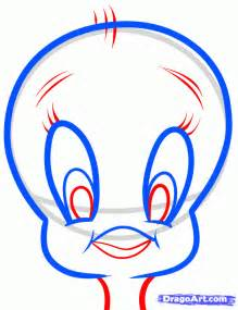 How to draw tweety easy step by step cartoon network characters