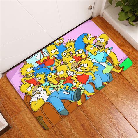 Karpet Lembut Anti Slip 40 X 60 Cm 2017 new character family print carpets bathroom mats anti slip rugs 40x60