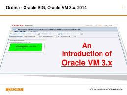 introduction to oracle vm assignment point