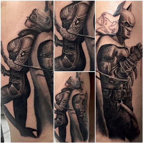 batman catwoman tattoo batman catwoman by chad miskimon tattoonow